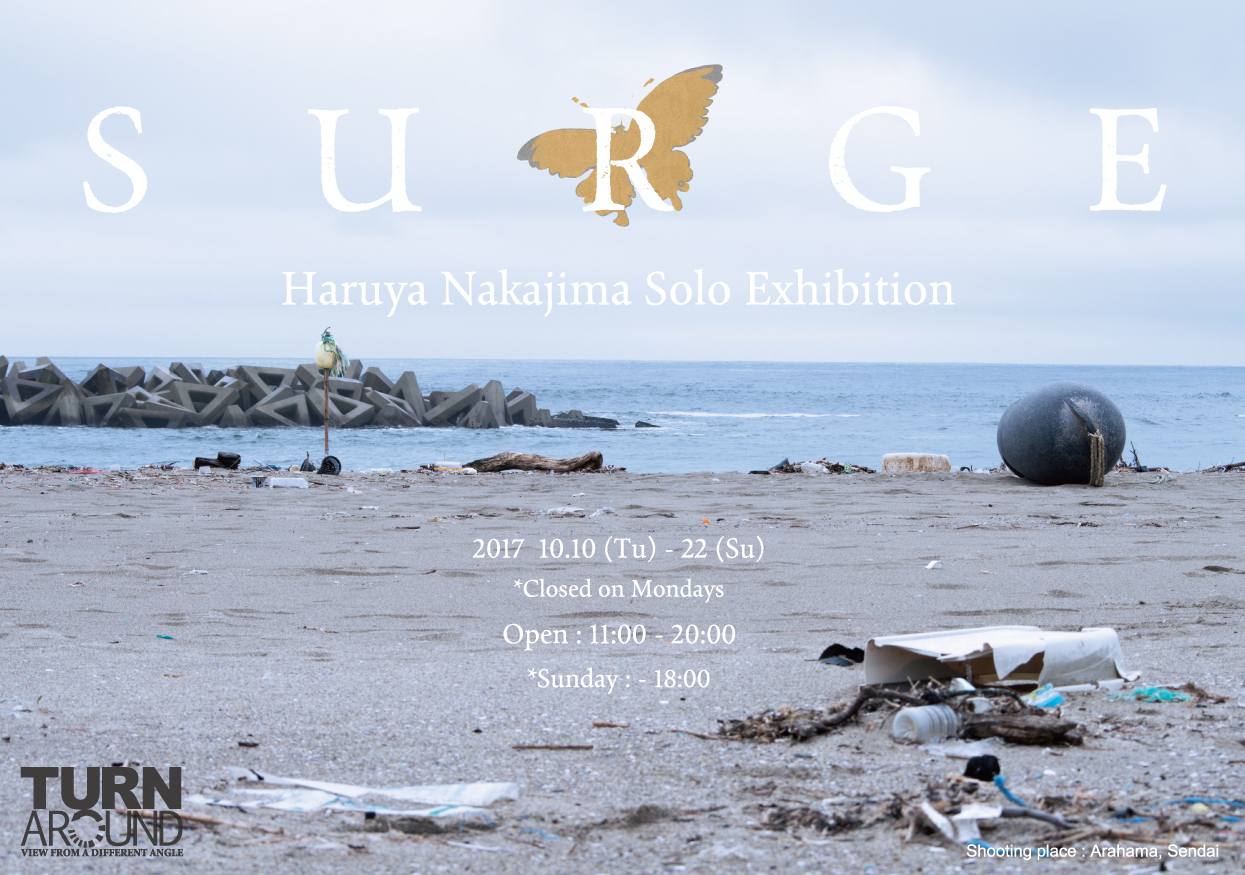 Haruya Nakajima Solo Exhibition「S U R G E」
